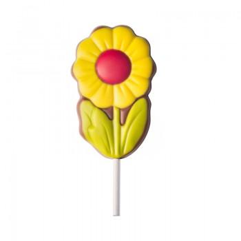 Lizak kwiat - żółty