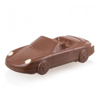 Czekoladowe Porsche Cabrio