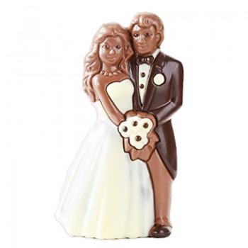 Młoda Para z czekolady