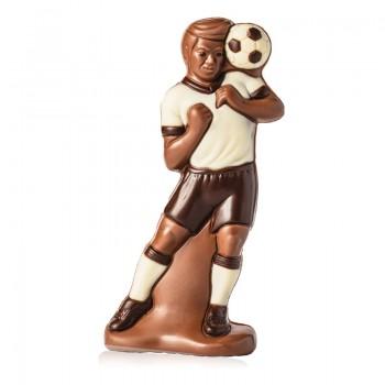 Czekoladowy piłkarz