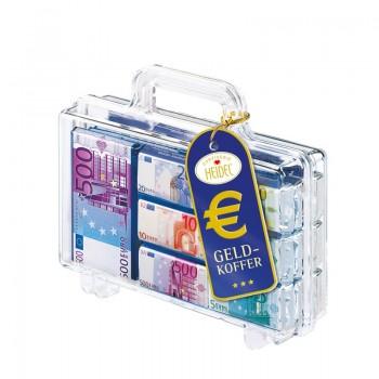 Czekoladki Euro w walizce