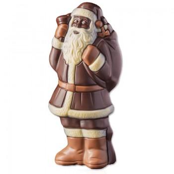 Święty Mikołaj z czekolady...